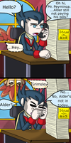 Alder is not in. by TomoGeminiLion