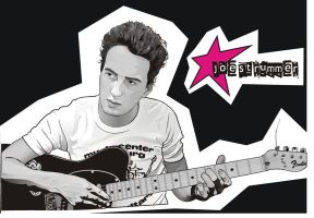 joe strummer vector by rodakrodak