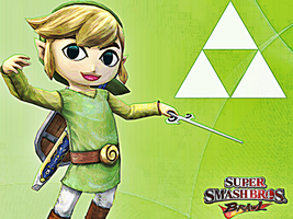 Toon Link Wallpaper by Skylight1989