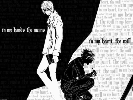 Death Note Wallpaper by Death-Note-Directory