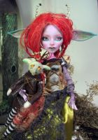 Niya Goblin princess(custom Monster high) by NickiiRose