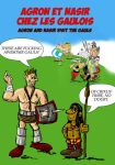 Agron and Nasir visit Asterix and Obelix by guad
