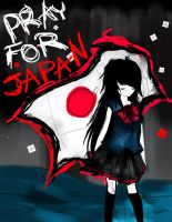 Pray for Japan by sukina-chan