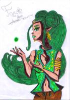 Farore, the godess of Courage by PinkHeart-Manoon