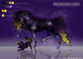 REFERENCE: MONDZEICHEN by skies-will-fall