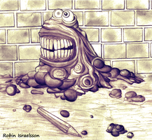 Mud monster b by rubbe