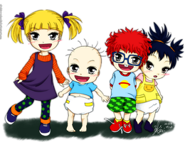 The RUGRATS by Al-Shira-Aohoshi