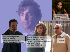 White Collar Renew Season 6 Fan Art by WildHorseFantasy