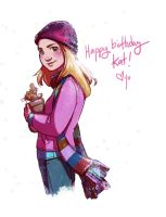 Happy Birthday Kat! by JoannaJohnen