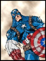 Captian America by DW-DeathWisH