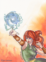 Iada watercolour by jeriweaver