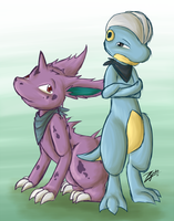 PMD . Poisoned Flyte by Hawkein