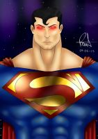 Supermanjtp by vulcanorosso
