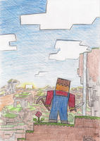 tribute to Minecraft by kittyninjafish