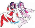 .:Request:.GameFlash and SnowApple as Anime Charas by MrsSoniku63