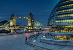 Tower Bridge test by claudiuvoicu