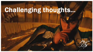 Loki is thinking... gif by IceFloe-ArtSoul