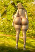 the new ass of giselle 2 by michaelvr4