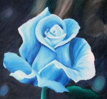 Blue Rose by sonicandanime