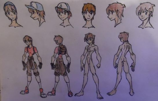 Dipper Pines, casual and anatomy (NSFW) by StoneMan85
