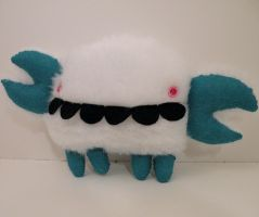 ME PLUSH YOU- Yeti Crab by loveandasandwich