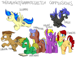 A Plethora of Paid-For Ponies by timsplosion
