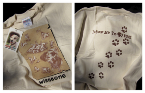 Wishbone T-Shirt - Follow Me To PBS by The-Toy-Chest