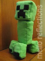 Another Creeper Plushie by MelloReflections