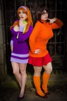 Daphne and Velma by SuperSirens