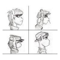 Gorillaz Poney by legaffeur