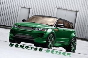 A Kahn Design Dark Tungsten RS250 Evoque by MOMOYA by MOMOYAK