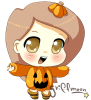 chibi halloween by griff-chii