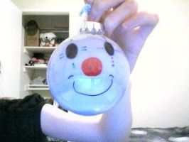 Clown Ornament by Carnival-Elsen