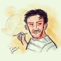 Happy Birthday Walt by marchbox
