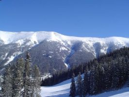 WINTER IN ROCKIES TWO by uncledave