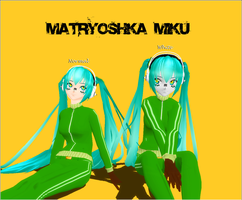 Matryoshka Miku -DL- by kaahgome