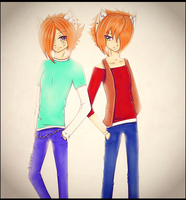 .::PCom: Brothers::. by Kimmy-tyan