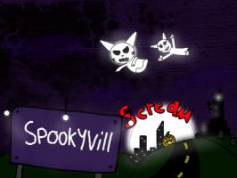 City of SpookyVill by MegaDISASTER