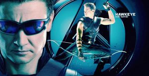 Hawkeye by BlackLeatherAgiel