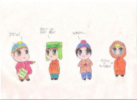 South Park Boys by MsWeird