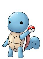 Squirtle by IshmanAllenLitchmore