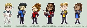 Trek OCs by Nomnomroko
