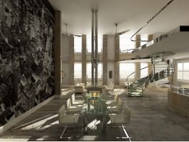 Loft Classic Ver01 Dinning by thiagomarcondes