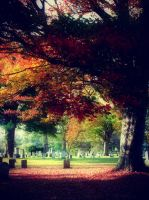 Autumn Graveyard by GizmoJax