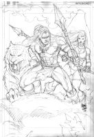 Sketch Ka-Zar by MARCIOABREU7