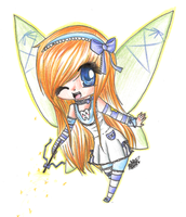 P.Commish : Tooth Fairy by NaruSparkles