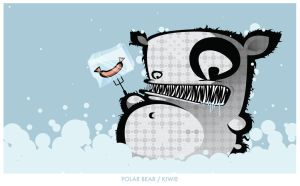 POLAR BEAR by KIWIE-FAT-MONSTER