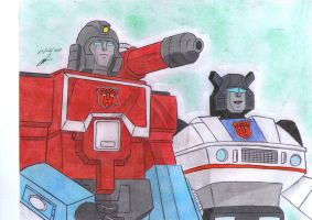 Perceptor and Jazz g1 by ailgara