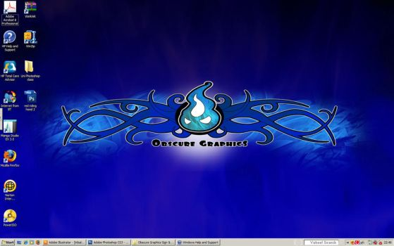 Obscure Graphics 2009 desktop by ObscureGraphics