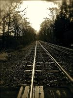 Railroad to Nowhere (retouched) by nldarkstripe
